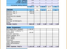 Budget Planner Template For Mac