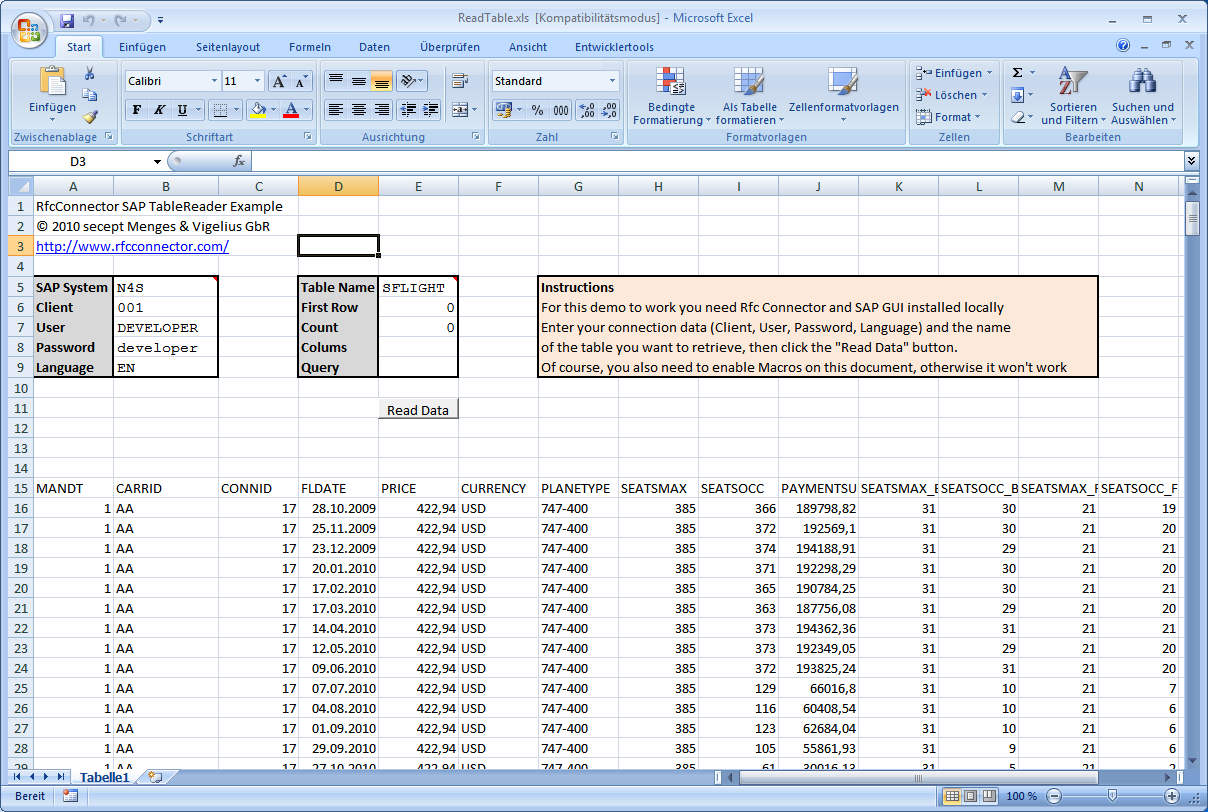 Examples Of Excel Financial Spreadsheets