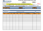 Petty Cash Reconciliation Template