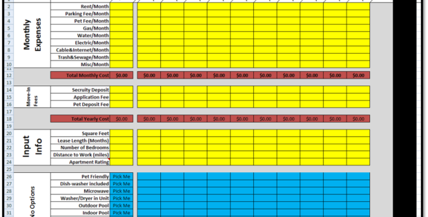 track rent payment spreadsheet template free download spreadsheets