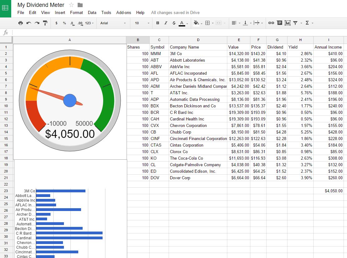download investment tracking spreadsheet free