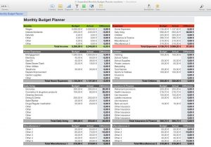 Budget Planner For Mac