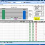 grant tracking spreadsheet template