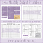 Easy Budget Spreadsheet Template