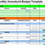 Home Budget Planner Template Free