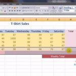 Working With Spreadsheets In Excel