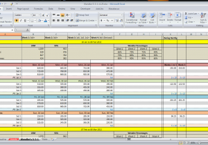 Free capacity planning template in excel spreadsheet