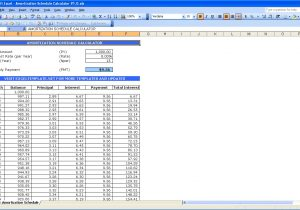 Mortgage Amortization Spreadsheet Excel